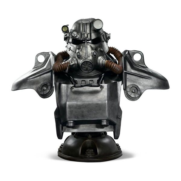 Fallout T-45 Power Armor Life-Size Bust by Gaming Heads