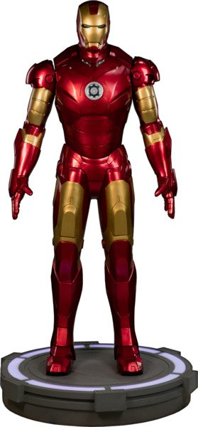 Best Geeky Collectables: Iron Man Mark III Life-Size Figure by Sideshow Collectibles