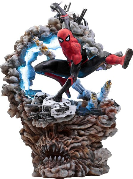 Marvel Spider-Man Far From Home 1:4 scale statue by Iron Studios