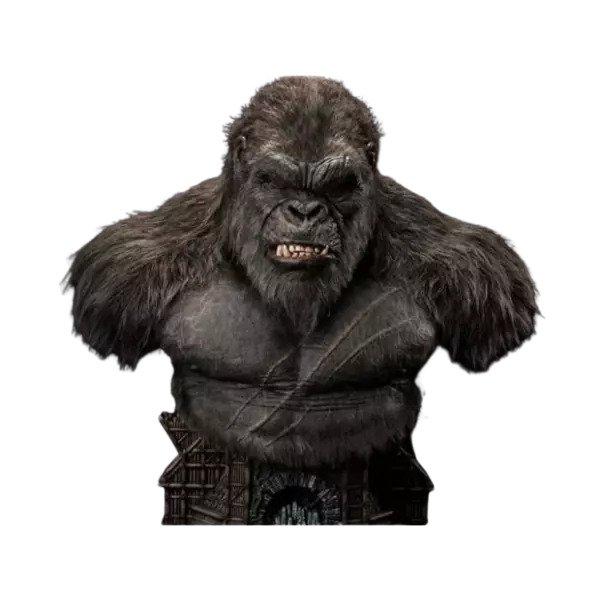 Top Geeky Collectables - Kong Kong 26-Inch Bust - Godzilla vs. Kong Kong