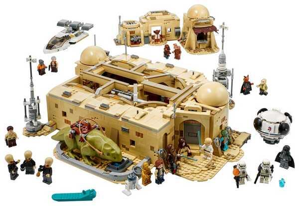 LEGO Mos Eisley Cantina 75290 Exterior