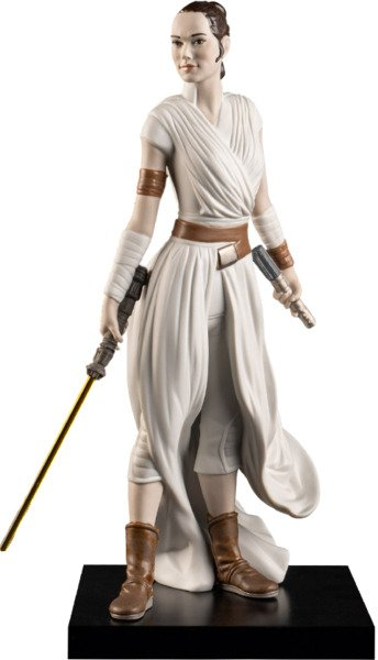 Top Geeky Collectables - Rey Porcelain Statue by Lladró Born to Rebel Collection - Star Wars Episode IX: The Rise of Skywalker