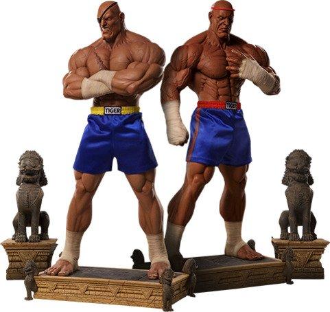 Sagat Evolution Statue - 1:3 Scale Statue by PCS Set of 2