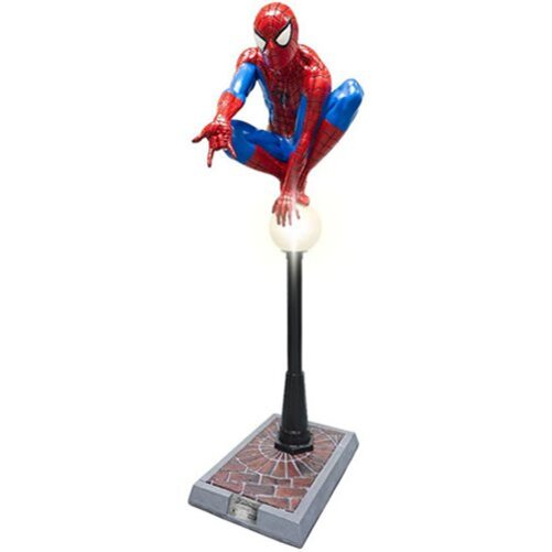 Top Geeky Collectables - Spider-Man Life-Size Lamppost Statue - Rubies Life-Size Statue