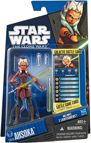 Star Wars Clone Wars 2011 Ahsoka Tano CW44 By Hasbro