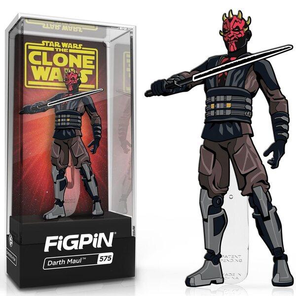 Star Wars Clone Wars Darth Maul FiGPiN Classic Enamel Pin
