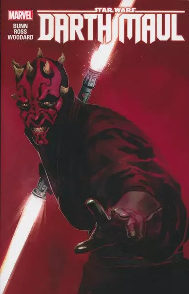Star Wars: Darth Maul Graphic Novel - Chris Eliopoulos, and Cullen Bunn  - Luke Ross, and Chris Eliopoulos  - Marvel Comics