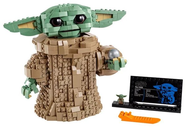 Star Wars LEGO Baby Yoda 75318