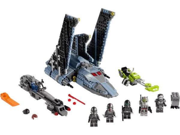 Star Wars LEGO The Bad Batch Attack Shuttle 75314