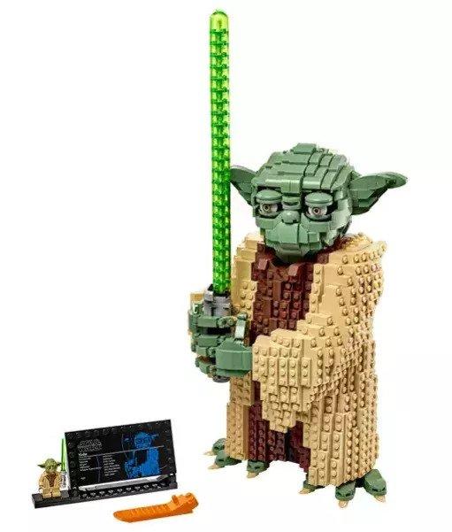 Star Wars LEGO Yoda Figure 75255