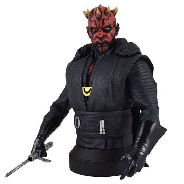 Star Wars Solo Crimson Dawn Darth Maul statue - 1:6 Scale Bust by Diamond Select