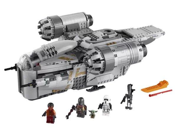 Star Wars The Mandalorian LEGO Bounty Hunter Transport Set
