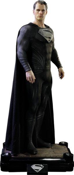 Best Geeky Collectables: Superman Black Suit Version - Batman V Superman: Dawn of Justice - Prime 1 Studio 1:2 Scale Statue