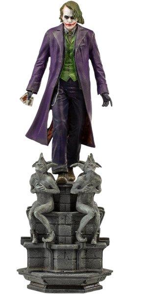 Heath Ledger Joker Statue - The Dark Knight 1:10 Scale Statue by Iron Studios