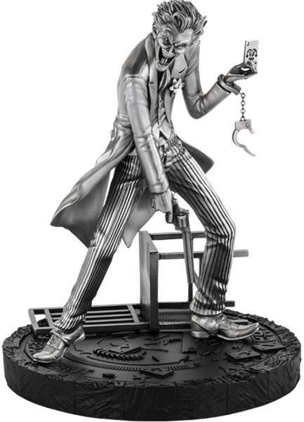 The Joker Royal Selangor Pewter Collectible Statue - Joker Statues and Busts