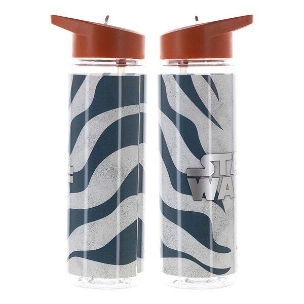 Star Wars The Mandalorian Ahsoka Tano 24 oz. UV Single-Wall Water Bottle The Mandalorian Ahsoka Water Bottle