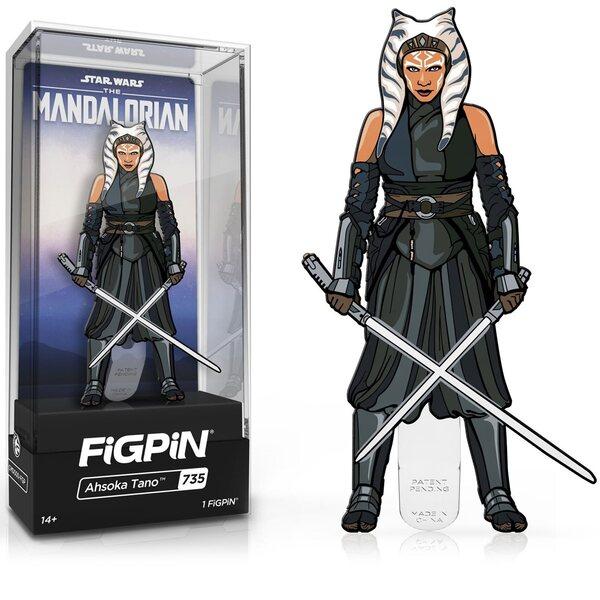 Star Wars: The Mandalorian Season 2 Ahsoka Tano FiGPiN Classic 3-Inch Enamel Pin