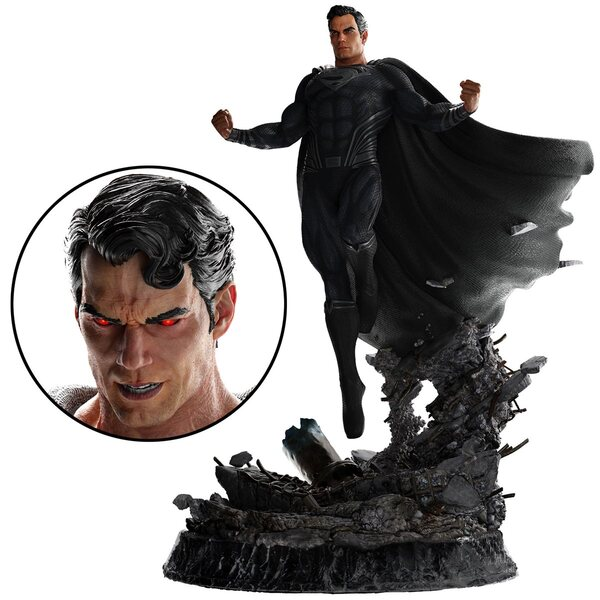 Zack Snyder's Justice League Superman 1:4 Scale Statue by WETA Workshop