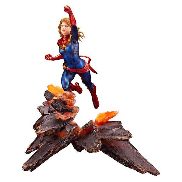Avengers Captain Marvel Kotobukiya Statue -  ARTFX Premier 1:10 Scale Marvel Universe Statue