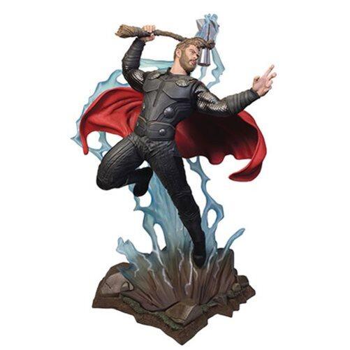 Avengers Infinity War Thor Statue by Diamond Select Marvel Movie Milestones