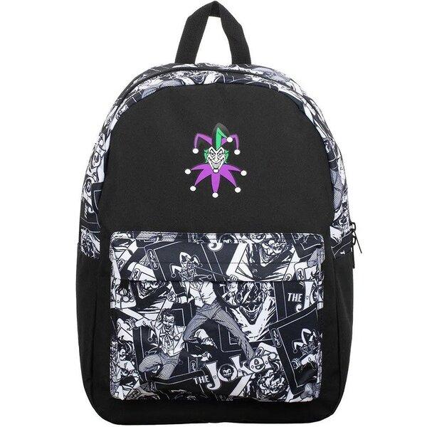 Bioware Joker Backpack - DC Comics Sublimated Panel Print Backpack