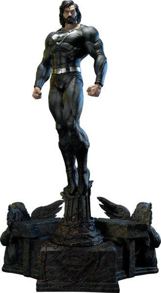 DC Comics Black Suit Superman - 1:3 Scale Statue by Prime 1 Studio