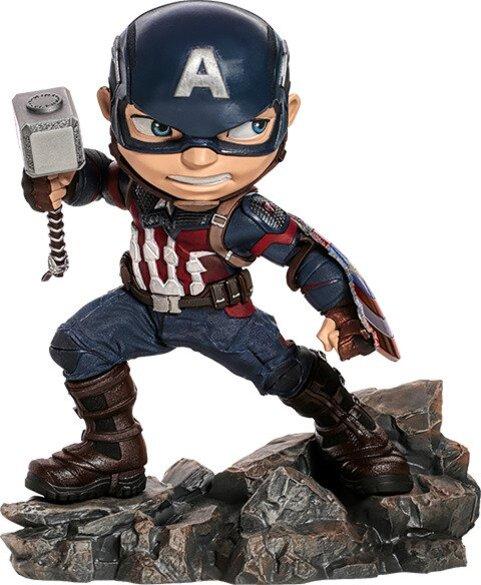 Captain America Mini Co Avengers Endgame Collectible Figure by Iron Studios