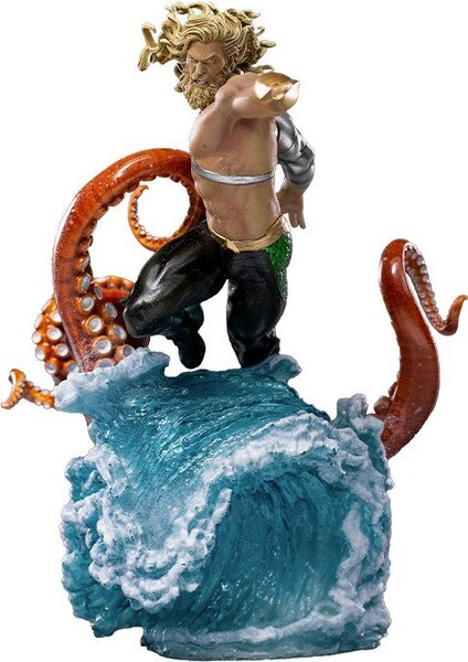 DC Comics Aquaman Deluxe 1:10 Art Scale Statue by Iron Studios