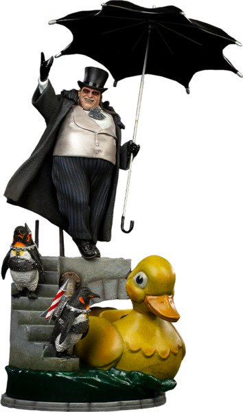 DC Comics Batman Returns Penguin Statue by Iron Studios