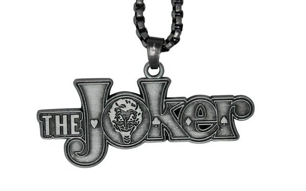 DC Comics Limited Edition Unisex Joker Metal Necklace by DUST