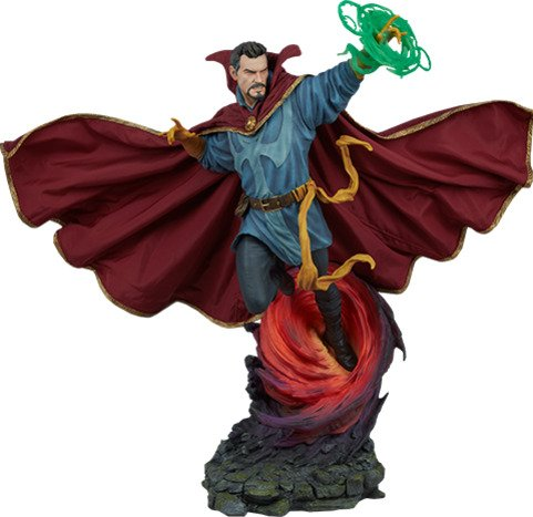 Doctor Strange Statue Maquette by Sideshow Collectibles - Marvel - Fabric, Resin, Polyurethane