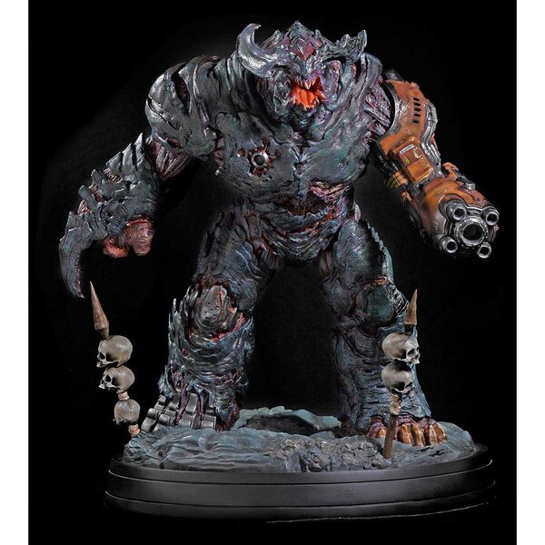 Doom Cyberdemon Collectable Statue by Gaming Heads