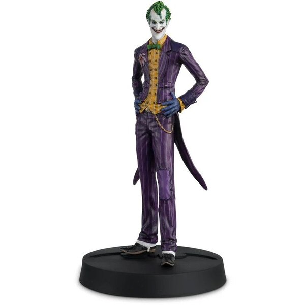 Eaglemoss Hero Collector - Batman: Arkham Asylum Joker Figure with Collector Magazine