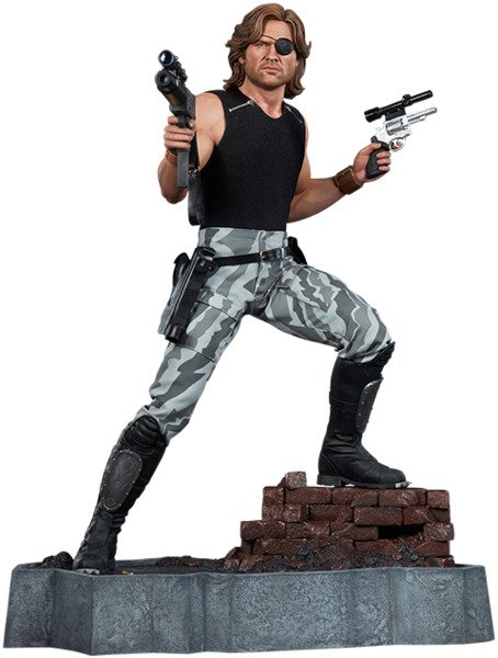 Top Geeky Collectables - Escape From New York - John Carpenter - 1:3 Scale Snake Plissken Statue by PCS