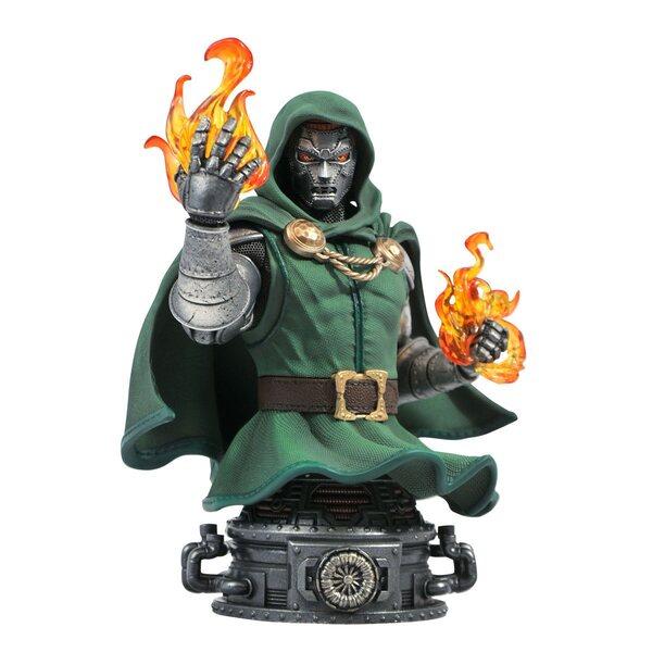Doctor Doom Bust Diamond Select - Fantastic Four Marvel Comics