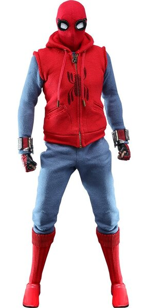 Homemade Suit Spider-Man Sixth Scale Figure by Hot Toys - Movie Masterpiece Series - Spider-Man: Far From Home