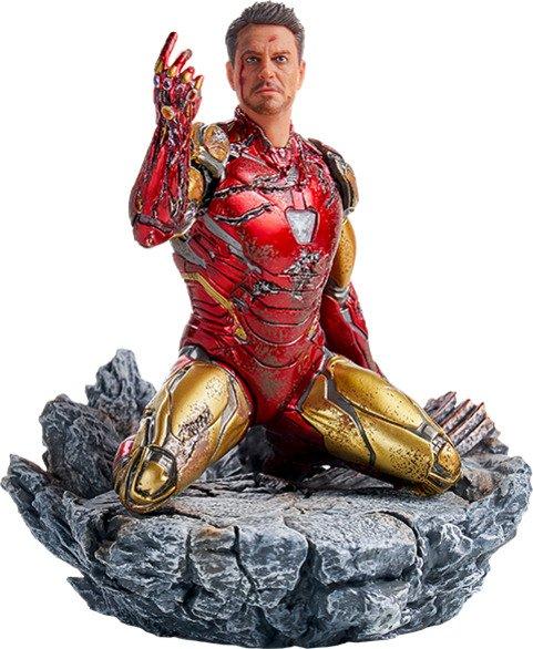 I Am Iron Man 1:10 Scale Statue by Iron Studios - Avengers: Endgame Battle Diorama Series