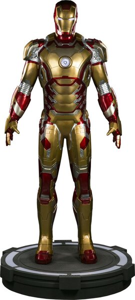 Iron Man Mark 42 Life-Size Figure by Sideshow Collectibles