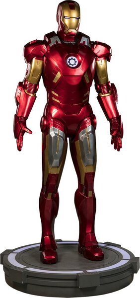 Iron Man Mark VII Life-Size Figure by Sideshow Collectibles