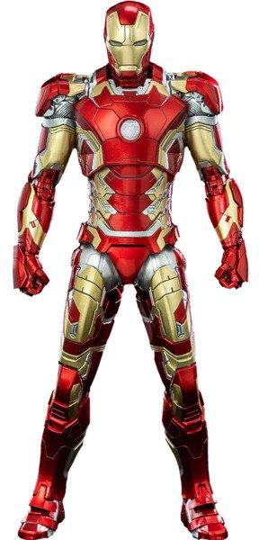 Iron Man Mark XLIII Threezero DLX Collectible Figure Series - Avengers: Infinity Saga