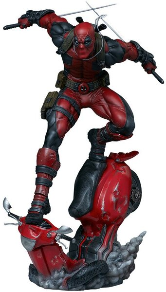 Marvel Deadpool Polyresin Premium Format Figure by Sideshow Collectibles