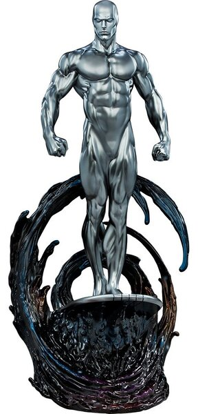 Marvel Polyresin Silver Surfer Maquette by Sideshow Collectibles