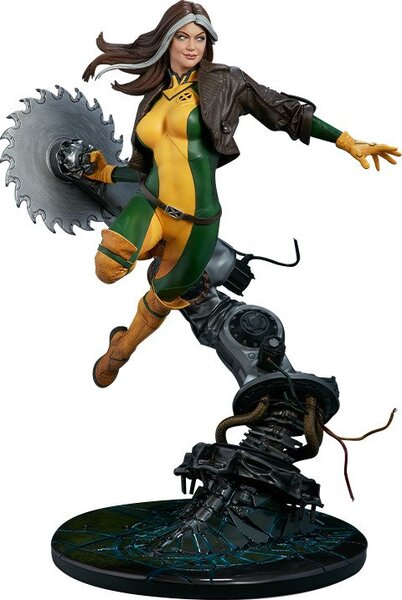 Marvel X-Men Rogue Polystone Maquette by Sideshow Collectibles