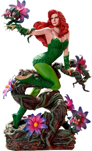 DC Comics Poison Ivy Ivan Reis 1:10 Scale Statue by Iron Studios