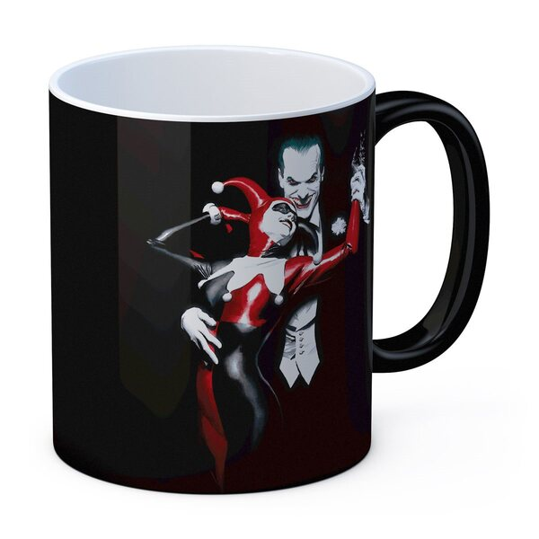 SD Toys DC Universe Masterworks Collection Harley Quinn and Joker Ceramic Mug