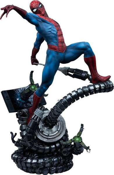 Spider-Man Premium Format Figure by Sideshow Collectibles - Marvel  Metal, Polystone, PVC, Resin Statue