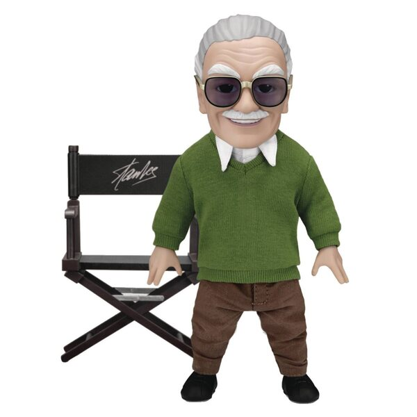 Stan Lee Director's Chair - Beast Kingdom  Egg Attack Action Figure - Marvel Statues