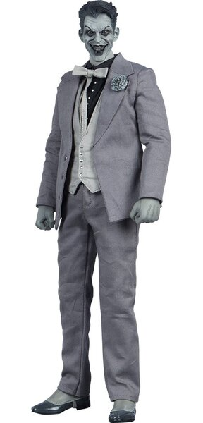 DC Comics The Joker Noir Version Black And White Sixth Scale Figure By Sideshow Dc Comics Collectibles