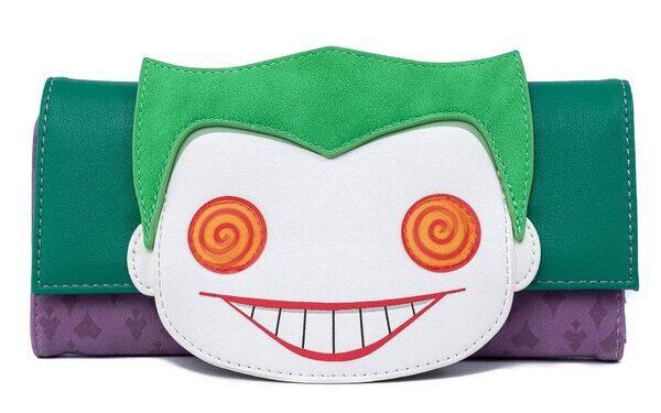 The Joker Flap Wallet by Loungefly