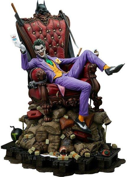 DC Comics The Joker Throne Maquette by Tweeterhead